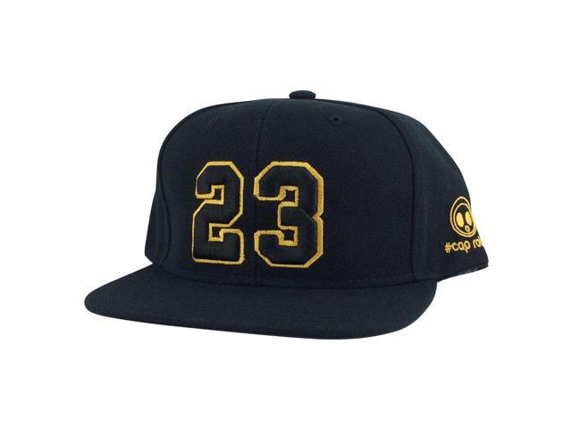 c23c3b73597608 Player Jersey Number  23 Snapback Hat Cap x Air Jordan   Lebron - Black Gold  Yellow