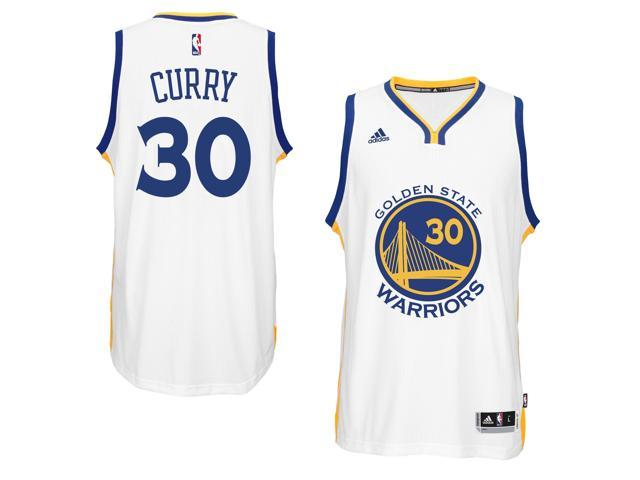 on sale 33714 8dc18 Adidas NBA Golden State Warriors Stephen Curry #30 White Home Adult  Swingman Jersey - Large - Newegg.com