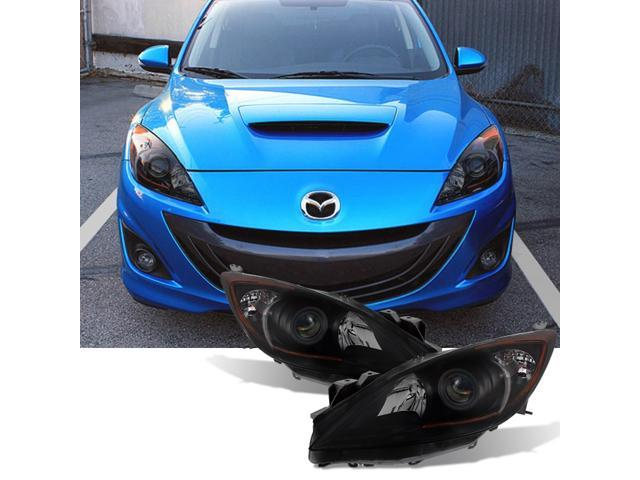 6 Speed Right and Left Side Replacement Headlight PAIR For 2012-2013 Mazda 3
