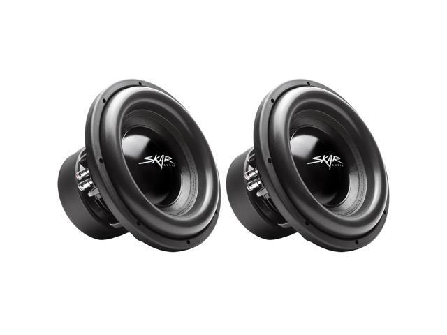 (2) Skar Audio EVL-12 D2 12