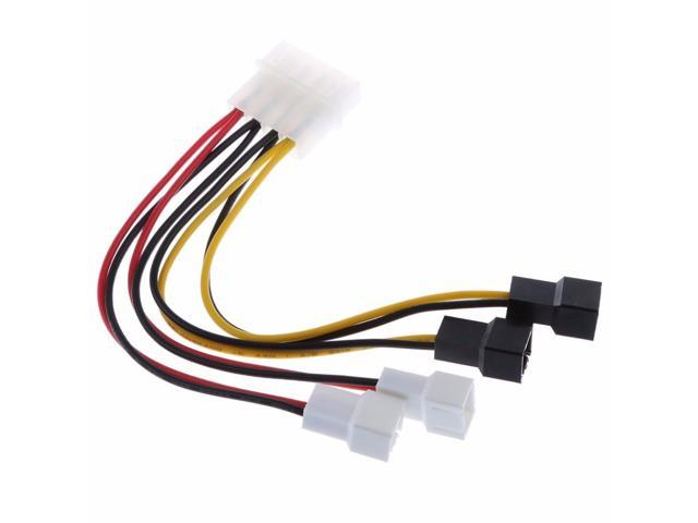 2 IN1 Y-type Power adapter Cable Battery For Head Bicycle light Bike Lamp
