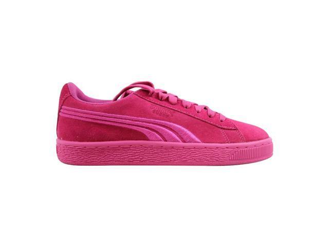 separation shoes 620ec fb263 Puma Suede Classic Badge Jr Shocking Pink 362951 05 Grade-School Size 7Y -  Newegg.com