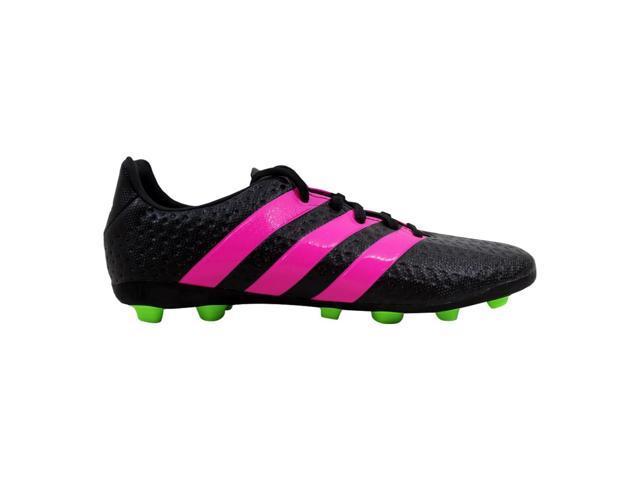 new product a863c 0aec1 Adidas Ace 16.4 FxG J Black/Pink-Green Grade-School AF5036 Size 6 Medium -  Newegg.com