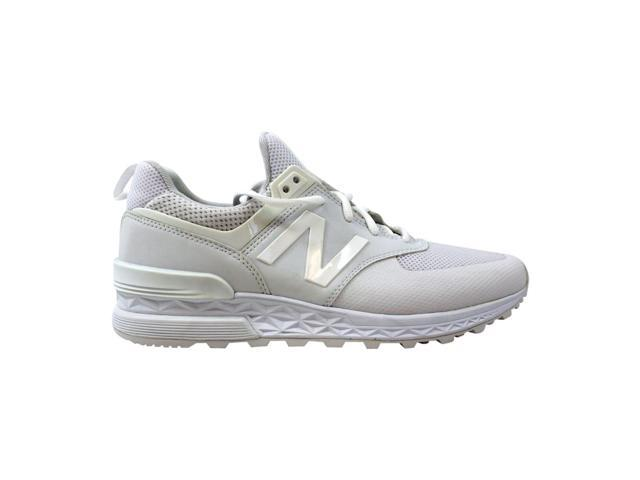 New Balance 574 Sport White Men's MS574SWT Size 8 Medium - Newegg com