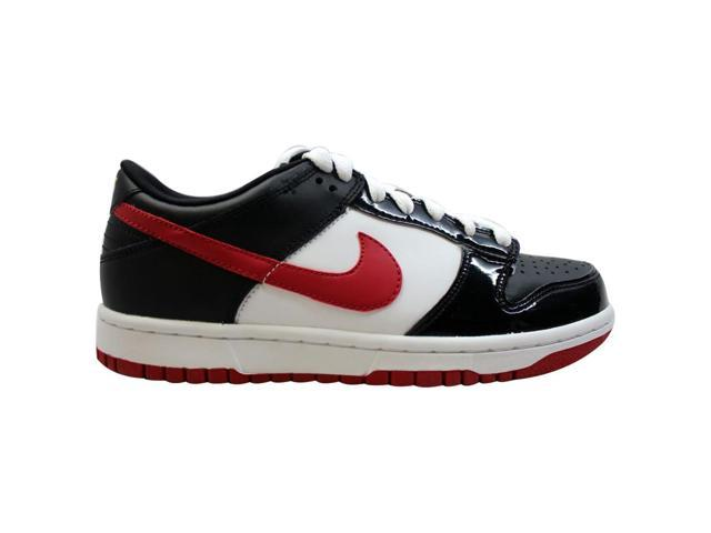 check out d5e3b c77ab Nike Dunk Low Black/Varsity Red-White-Varsity Maize 310569-061 Grade-School  Size 5Y - Newegg.com