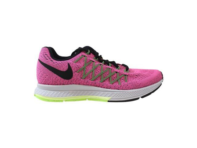 la moitié ee89a c2c79 Nike Air Zoom Pegasus 32 Pink Power/Black-Violet-Ghost Green Women's  749345-600 Size 5 Wide - Newegg.com