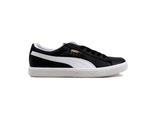 buy online 31e8b bf2c5 Puma Clyde Leather FS Black/White Men's 352773 02 Size 6 Medium - Newegg.com
