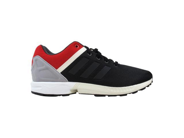 new products 62144 532db Adidas ZX Flux Split Black/Black-Red AF6358 Men's Size 9.5 - Newegg.com
