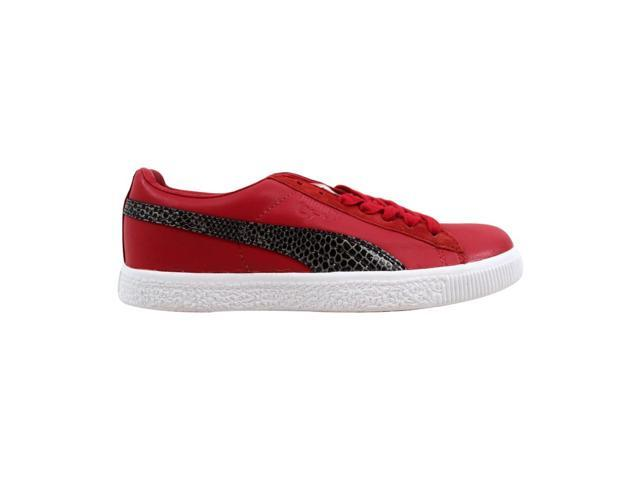 free shipping ee069 86a49 Puma Clyde X Undftd Snakeskin Ribbon Red 353917 02 Men's Size 5.5 -  Newegg.com