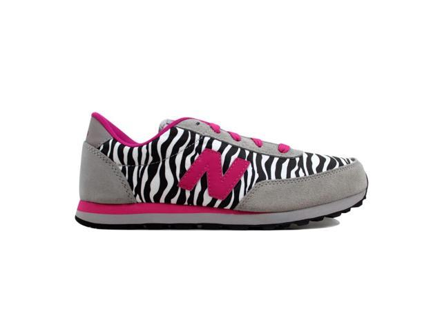 barba No complicado Activar  New Balance 501 Classic Grey/Pink Zebra KL501ZBY Grade-School Size 7Y -  Newegg.com