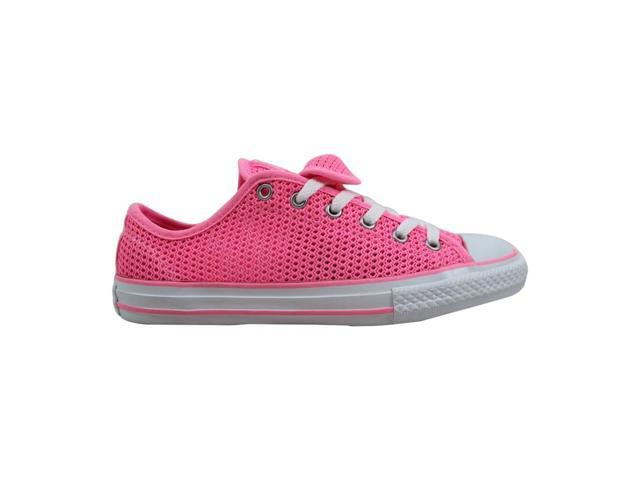 4b2f8281a032b Converse Chuck Taylor All Star Double Tongue OX Pink Glow/Pink Glow-White  656058F Grade-School Size 2Y - Newegg.com