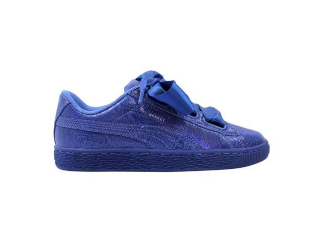 new style b4aa3 33cd2 Puma Basket Heart NS Baja Blue/Baja Blue Women's 364108 03 Size 6.5 Medium  - Newegg.com