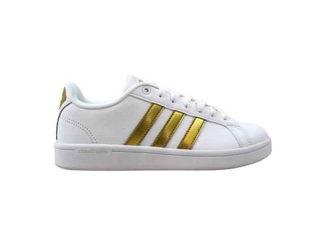 great deals 2017 buy sale sale usa online Adidas Cloudfoam Advantage W White/Gold-Black CG5884 ...