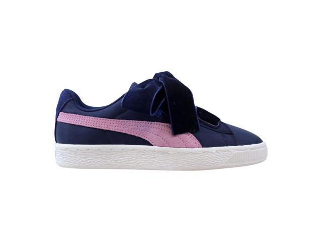 online retailer 1732c c0e03 Puma Basket Heart Nylon Blue Depths/Smoky Grape 364954 01 Women's Size 7.5  - Newegg.com