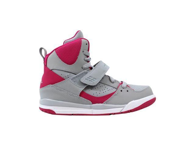 meilleur authentique 9dd1b debea Nike Air Jordan Flight 45 High GP Wolf Grey/Pink 524863-019 Pre-School Size  13Y - Newegg.com