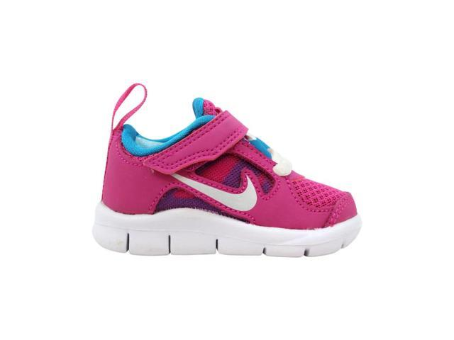 pretty nice ef94c 281c4 Nike Free Run 3 TDV Fusion Pink/Metallic Silver-Night Turqoise 512101-602  Toddler Size 3C - Newegg.com