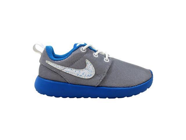 best website 6dbbf 3ad2f Nike Rosherun PS/TD Wolf Grey/White-Photo Blue-White 645778-019 Toddler  Size 10C - Newegg.com