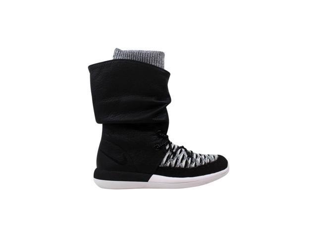 online retailer 5b2d1 760a4 Nike Roshe Two Hi Flyknit W Black/Black-White 861708-002 Women's Size 7 -  Newegg.com