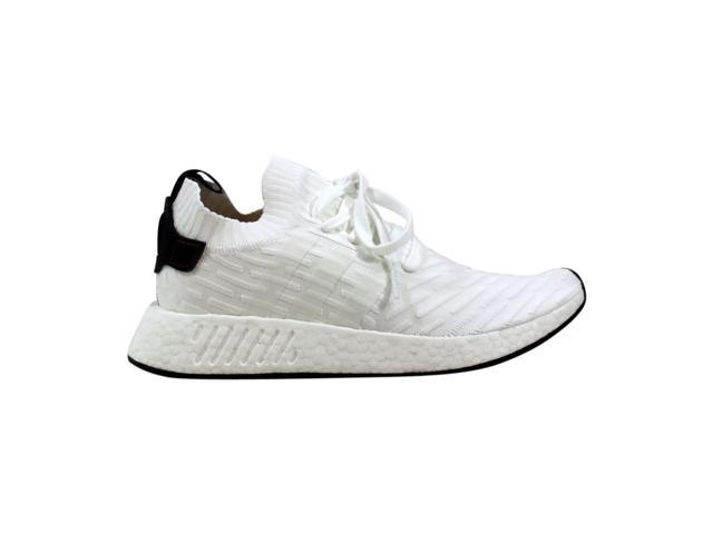 competitive price b3d3b 13c56 Adidas NMD R2 Primeknit White/Black BY3015 Men's Size 4 - Newegg.com