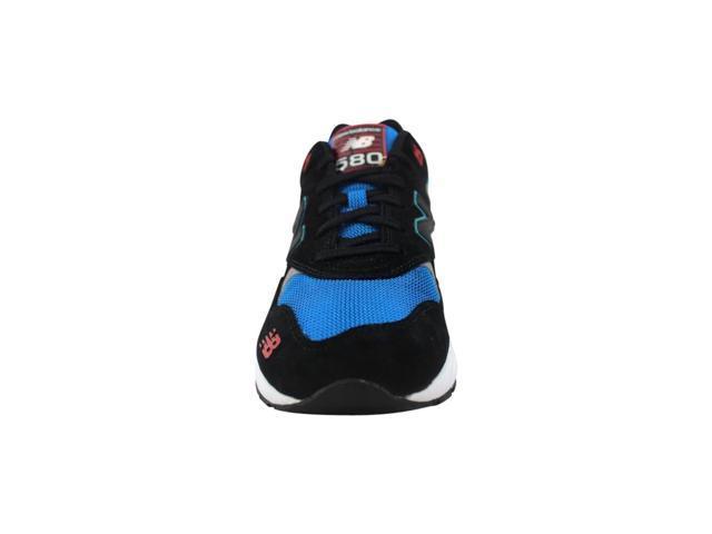 sports shoes 9cfd2 b6269 New Balance 580 Elite Pinball Suede Black/Blue-Red MRT580BF Men's Size 7 -  Newegg.com