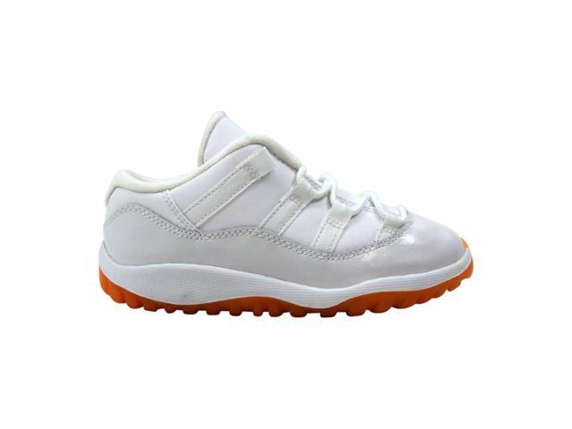 new style e2075 62b5c Nike Air Jordan XI 11 Retro Low White/Citrus 645107-139 Toddler Size 10C -  Newegg.com