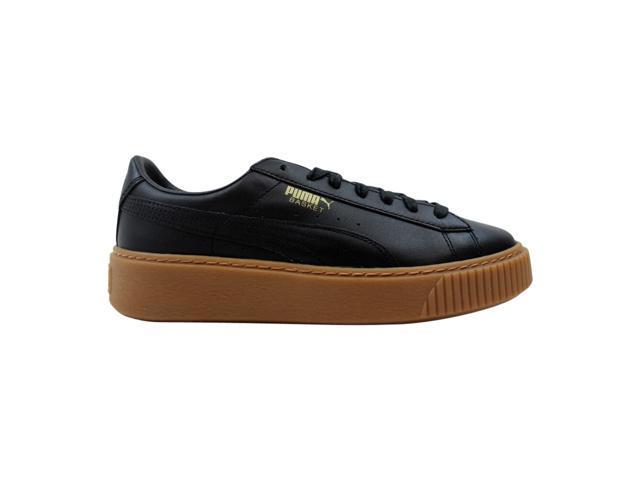 online store a9dde 7edc1 Puma Basket Platform Core Puma Black 364040 02 Women's Size 9 - Newegg.com