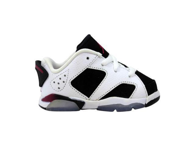low cost 2b4fd 0896e Nike Air Jordan VI 6 Retro Low GT White/Sport Fuchsia-Black 768885-107  Toddler Size 5C - Newegg.com