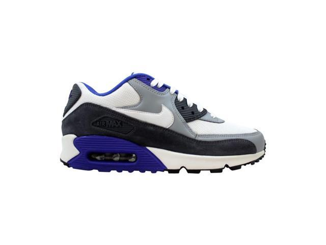 huge selection of 495b3 1e2fa Nike Air Max 90 Essential White/Silver-Dark Grey 537384-122 Men's Size 8.5  - Newegg.com