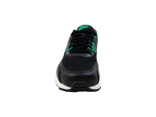 Nike Air Max 90 Essential BlackWhite Lucid Green 537384 054 Men's Size 8.5