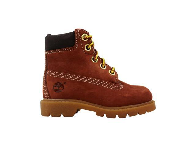 Timberland 6 Inch Boot RustNubuck 10850 Toddler Size 5.5C