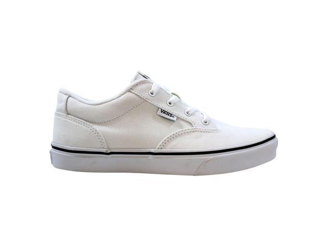 Vans Winston Canvas WhiteBlack VN0A33TCD84 Men's Size 5.5