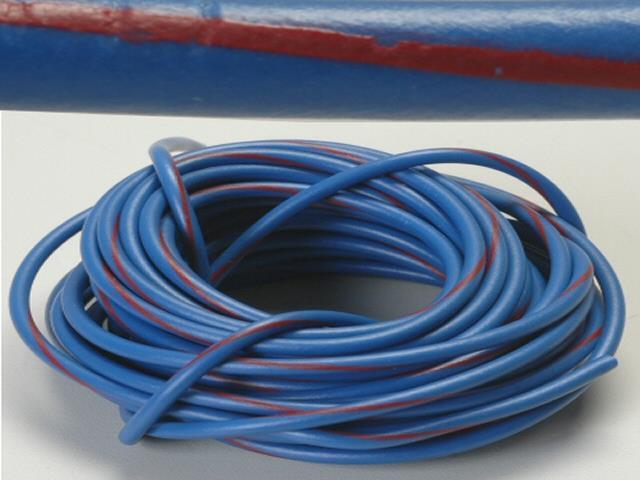 K-Four Blue 14 Gauge Wire With Red Stripe - 20 Feet - Newegg.com