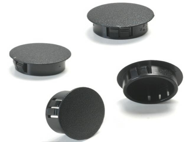K Four Plastic Snap In Hole Plugs For 1 2 Inch Holes Pack Of 4