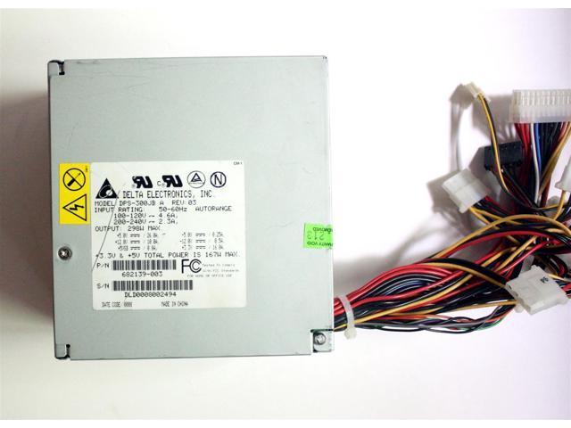 PWR SUPPLY 300W DPS-300JB A REV.03 P//N 682139-003 DELTA