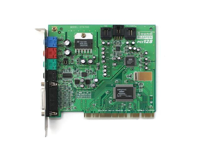 CREATIVE SOUND BLASTER PCI128 DRIVERS WINDOWS 7 (2019)