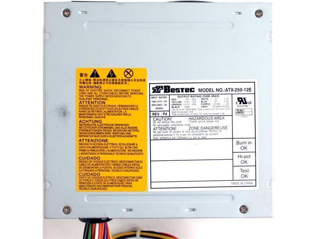 410507-001 Compaq HP DX2200 250W POWER SUPPLY