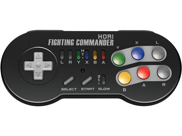 HORI Super SNES Classic Edition Fighting Commander Wireless Turbo  Controller Pad Officially Licensed by Nintendo - Newegg com