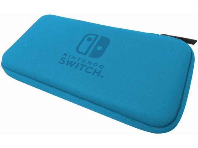 Hori Official Nintendo Switch Lite Slim Tough Pouch Case Blue