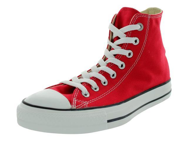 Converse All Star Chuck Taylor Hi Mens Size 13 Red Textile Sneakers Shoes