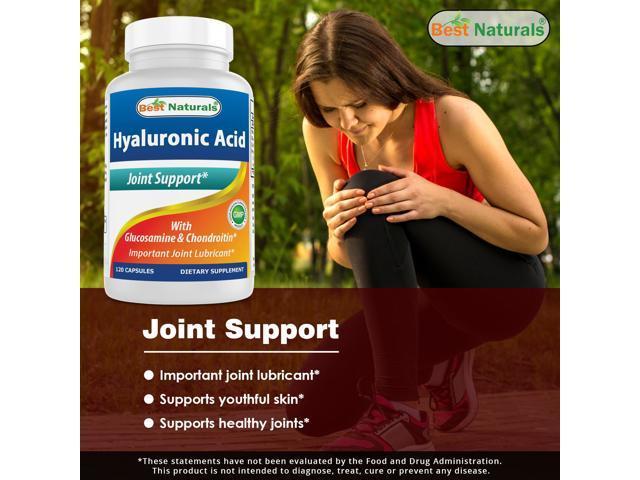 Best Naturals Hyaluronic Acid 100 120 Capsules - Newegg com