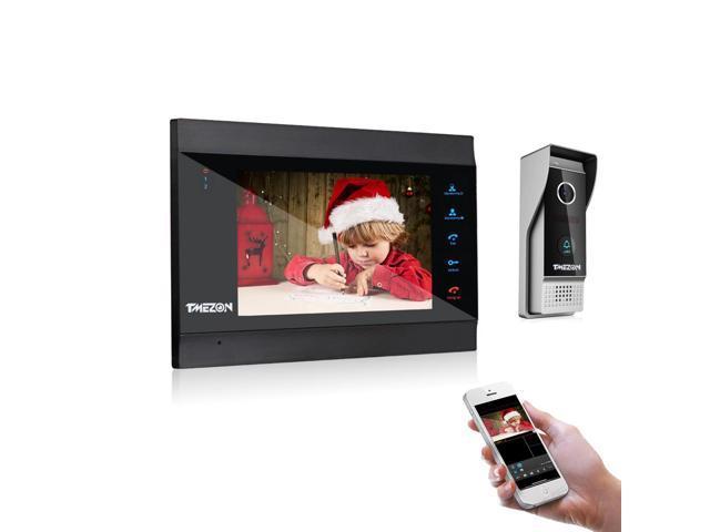 TMEZON 7 Inch Wireless/Wifi Smart IP Video Door Phone