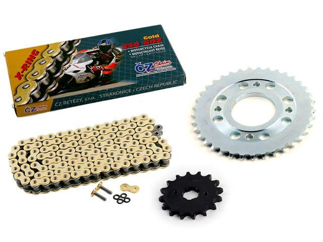 1993-1995 Fits Honda CBR900RR CZ SDZ Gold X Ring Chain and Sprocket Kit 16//43 110L