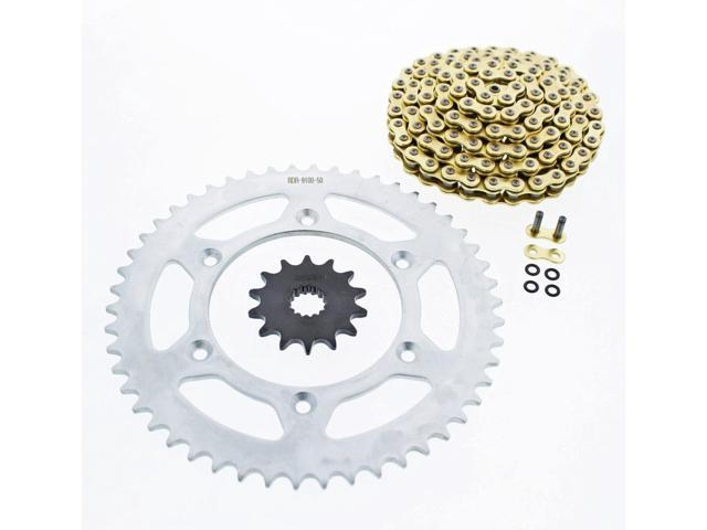 NEW X Ring Gold Chain and Sprocket Kit Aluminum  KTM 250 EXC 1998–2003