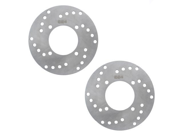 2 FRONT BRAKE DISC ROTOR and PADS FITS Polaris MAGNUM 325 4X4 HDS 2001-2002