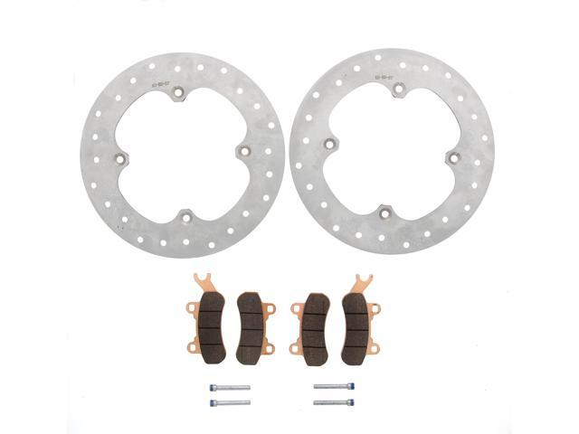 Brake Rotors /& Brake Pads fits Can-Am Maverick X3 4x4 2017 2018 Front /& Rear MudRat
