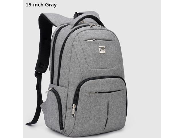 Casual 18 19 Inch Laptop Backpack Large Computer Bag For Notebook Briefcase 17 Travel