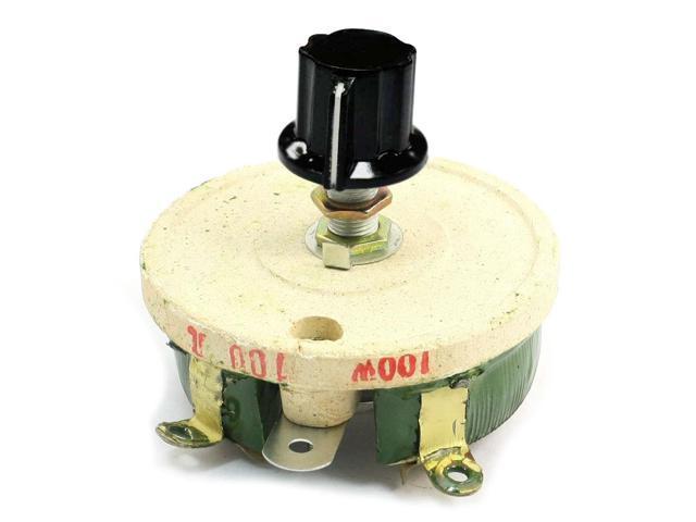 thzy 100w 100 ohm ceramic wirewound potentiometer rotary resistor rh newegg com Potentiometer Pins Various Power Potentiometer