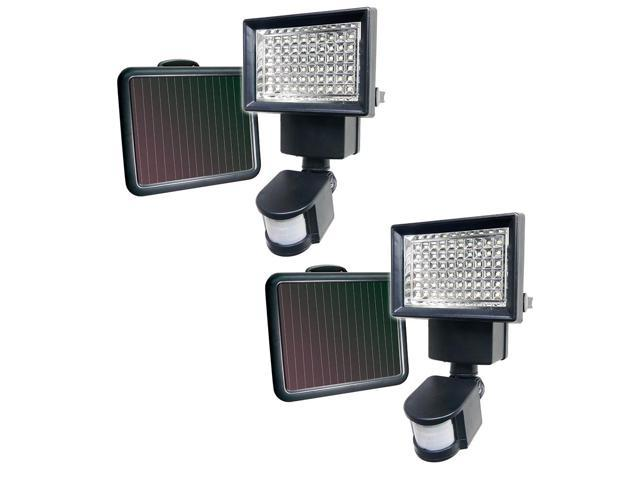 4 PACK 150 SMD LEDs Solar Powered White Motion Sensor Security Light Flood 100