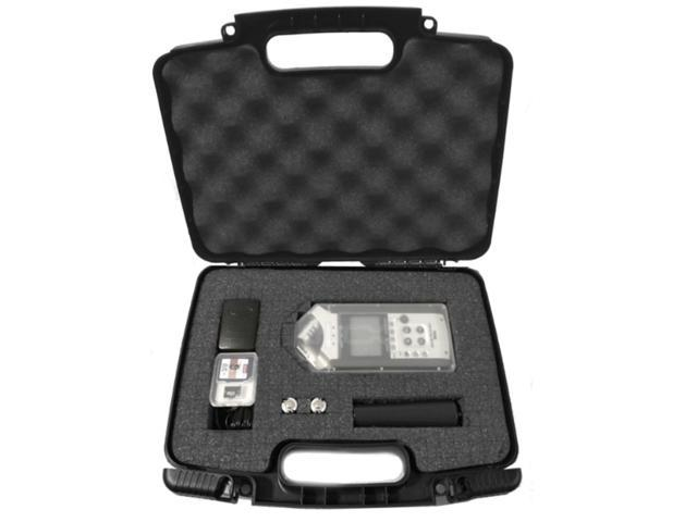 Casematix Portable Recorder Carrying Travel Hard Case W Dense