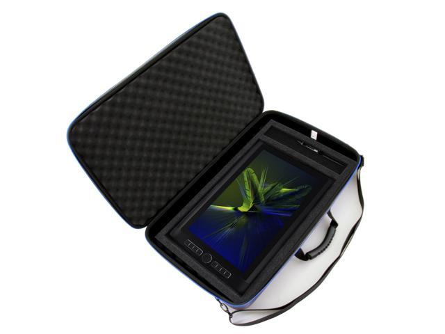 Broonel Luxury Leather Graphics Tablet Case with Built-in Ergonomic Stand Compatible with The Wacom Cintiq Pro 13